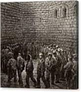 Newgate Prison Exercise Yard Canvas Print