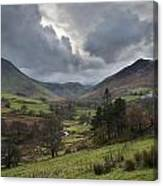 Newlands Valley Lake District National Park Canvas Print