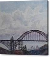 Newport Bay Bridge I Canvas Print