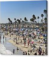 Newport Beach Canvas Print