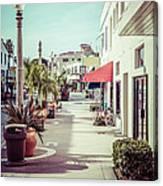 Newport Beach Main Street Balboa Peninsula Picture Canvas Print