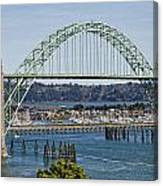 Newport Bridge Canvas Print