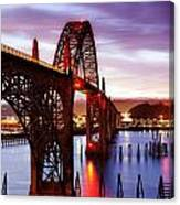 Newport Dawn Canvas Print