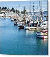 Newport Fishing Fleet  Canvas Print