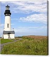 Newport Oregon Yaquina Lighthouse Canvas Print