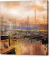 Newport Rhode Island Harbor I Canvas Print