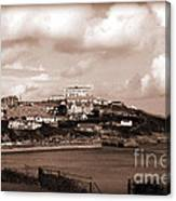 Newquay In Cornwall Canvas Print