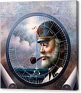 Imperishable  Map Captain 6 Canvas Print