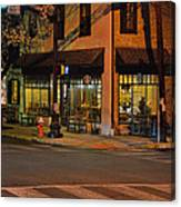 Newtown Nighthawks Canvas Print