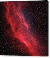 Ngc 1499, The California Nebula Canvas Print