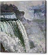 Niagara American Falls 2 Canvas Print