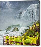 American Falls Niagara Cave Of The Winds Canvas Print