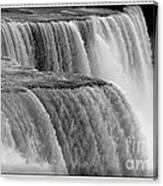Niagara Falls Closeup Box Camera Effect Canvas Print