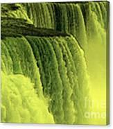 Niagara Falls Closeup Hot Wax Effect Canvas Print