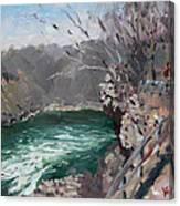 Niagara Falls Gorge Canvas Print
