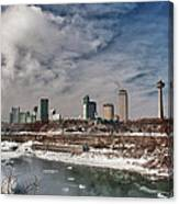 Niagara Falls The City 4534 Canvas Print