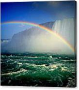 Niagara Rainbow Canvas Print