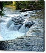 Niagara River Rapids Above Niagara Falls 2 Canvas Print