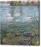 Niagara River Spring 2013 Canvas Print