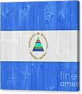 Nicaragua Flag Canvas Print