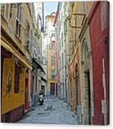 Nice Alley Canvas Print