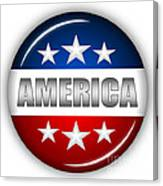 Nice America Shield Canvas Print
