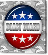 Nice Coast Guard Shield 2 Canvas Print