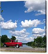 Nice Day For A Drive Canvas Print