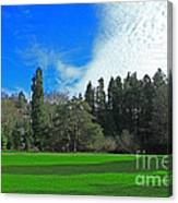 Nice Day In The Park Canvas Print