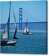 Nice Day On The Bay Canvas Print