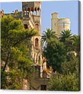 Nice - France - A Multiple Of Facets Canvas Print