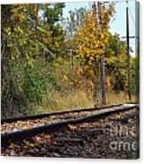 Nickel Plate Train Tracks Canvas Print