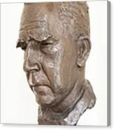 Niels Bohr Sculpture Canvas Print