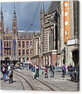 Nieuwe Kerk In Amsterdam Canvas Print