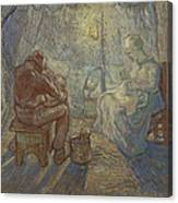 Night After Millet Canvas Print