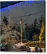 Night After The Ice Storm Canvas Print