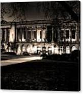 Night At The Library II Canvas Print