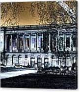 Night At The Library IIi Canvas Print