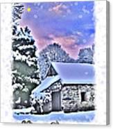 Christmas Card 27 Canvas Print