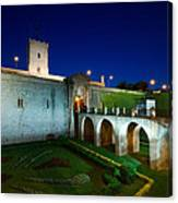 Night Castle Canvas Print