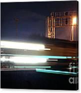 Night Express - Union Pacific Engine Canvas Print