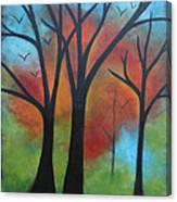 Night Fall Canvas Print