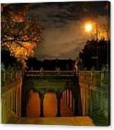 Night-fall Canvas Print