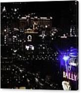 Night In Vegas 2008 Canvas Print