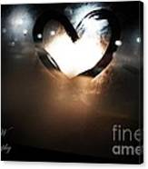 Night Life Love Canvas Print