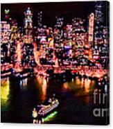 Night Lite Seattle Canvas Print