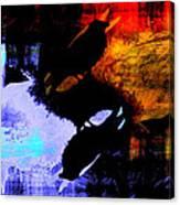 Night on the Mountain Canvas Print