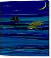 Night Reflections Canvas Print