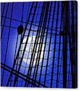 Night Rigging Canvas Print