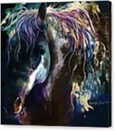 Night Stallion Canvas Print